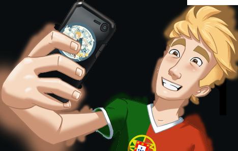 Influent-Portuguese-Selfie