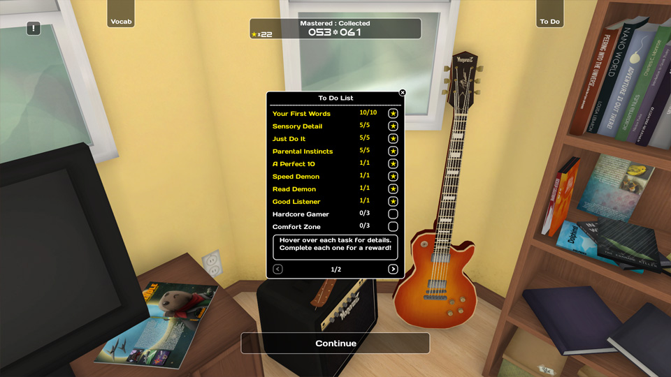 Achievements Influent Screen Shot